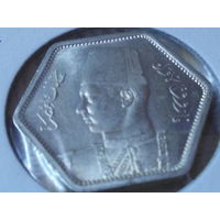 Египет 2 пиастра 1944 г.серебро.