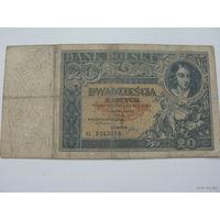 Польша 20zl 1931г.