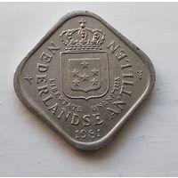 Нидерландские Антильские острова 5 центов, 1981 1-2-2