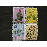 Непал 1980 Непальские специи Флора полная серия