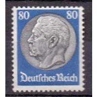 Германия Стандарт Гинденбург 80 pf (*) 1936 г