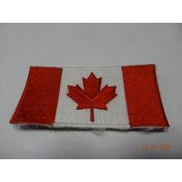 Нашивка флаг ВС Канады (с формы инспектора по контролю за вооружением)