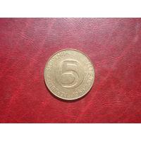 5 толларов 1994 год Словения