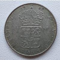 Швеция 1 крона, 1962 6-5-15