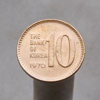 Южная Корея 10 вон 1970