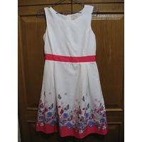 Нарядное платье на чехле для девочки рост 164, Польша