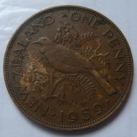 Новая Зеландия 1 пенни 1959 г