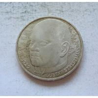 Германия 5 марок 1978 100 лет со дня рождения Густава Штреземана