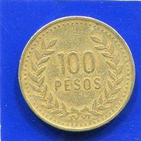 Колумбия 100 песо 1992