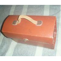 Картонный чемоданчик на заклёпках, СССР