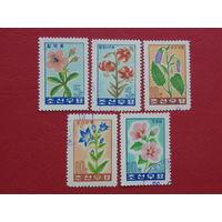 Корея 1974г. Флора.