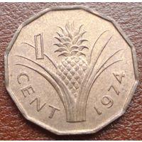 6790: 1 цент 1974 Свазиленд