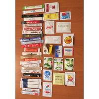 Глюкофилия. Сахар 44 пакетов из разных стран