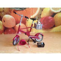 Велосипед для Barbie My Scene