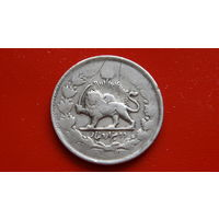 2000 Динаров -ИРАН- *1882-1883*(буква-В-) *серебро-900-