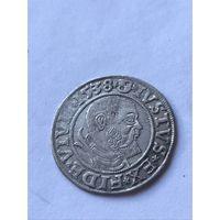 Грош 1538г. Пруссия