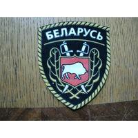 Шеврон МВД РБ 90 гг (ЖИЛЬБЕЛ 80)