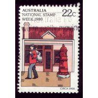 1 марка 1980 год Австралия 727