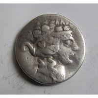Тетрадрахма Древняя Греция крупная античная монета.