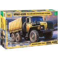 ЗВЕЗДА 3654 - Армейский трехосный грузовик УРАЛ 4320 / Сборная модель 1:35