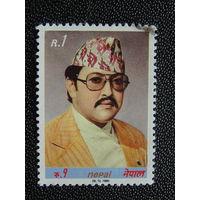 Непал 1980 г. Известные люди.