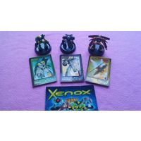 Игрушки фигурки Xenox 3шт