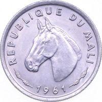 РАСПРОДАЖА!!! - МАЛИ 10 франков 1961 год - BU!