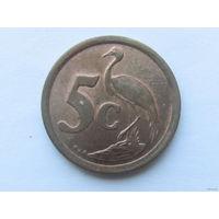 5 центов 1994 года. ЮАР