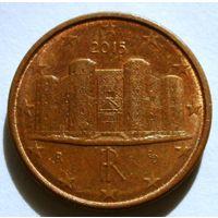 1 евроцент 2015 Италия