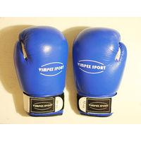 Боксерские перчатки Vimpex Sport 3009, 10-oz, натуральная кожа