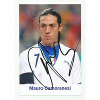 Mauro Camoranesi(Италия). Живой автограф на фотографии.