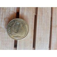 Монета Новая Зеландия 1 доллар Фауна 2008