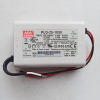 Блок питания 25Вт, 1.05A. 16-24В. AC/DC LED. Для светодиодного освещения. Источник, драйвер Mean Well. 16-24 Вольт. 1,05 Ампер, 25 Вт. PLD-25-1050