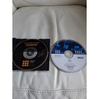 Навигационные диски от мерседеса.