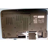 Задняя крышка + держатель винчестера от ноутбука Acer Aspire 5535
