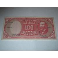 Чили 100 песо 1960/61