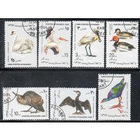 Птицы Афганистан 1989 год серия из 7 марок