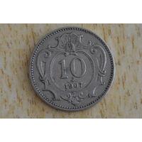 Австрия 10 геллеров 1907