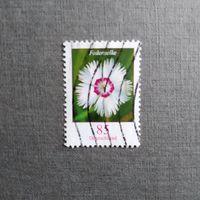 Марка Германия 2014 год Цветы