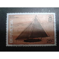 Бермуды, колония Англии 1986 парусник