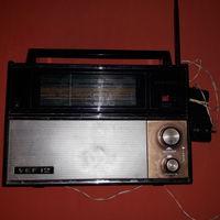 """Радиоприёмник - """"VEF-12"""" (""""ВЭФ-202"""")  редкое-странное обозначение 12 и 202 с блоком питанияОТ 220В"""