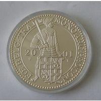 Нидерланды, 1 Дукат 2001 Серебро (2)