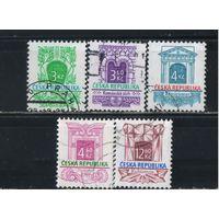 Чехия 1995-7 Архитектурные стили Саленто-стиль Романский Классицизм Романтизм Кубизм Стандарт #94-5,118,140,150