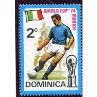 Доминика. Футбол 1974