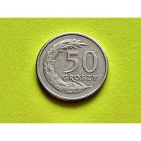 Польша. 50 грошей 1991.