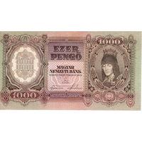 Венгрия, 1000 пенго, 1943 г. UNC-