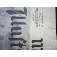 Газета журнал 1943. Munchner . Германия .Много фото .