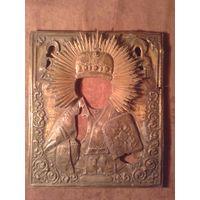 Оклад от иконы Николай Чудотворец