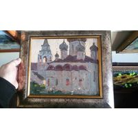 Работа советского художника Савицкого. начало 60-х