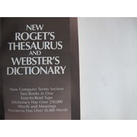 New Roget's Thesaurus and Webster's Dictionary